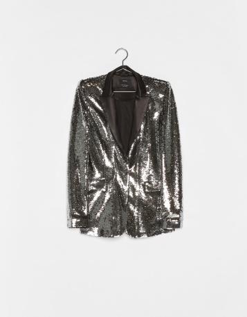 Blazer lantejoulas | Zara