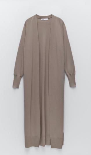 Zara - 29.95 - maxi coat